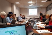 GeoImaging joins mid-term review of our Marie Skłodowska-Curie RISE project VOLTA.